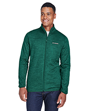 Columbia 1807681 Men Birch Woods™ II Full-Zip Fleece Jacket at GotApparel