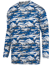 Augusta 1807  Mod Camo Lng Slv Wicking Tee at GotApparel