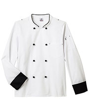 Five Star 18545  Long Sleeve Executive Chef Coat at GotApparel