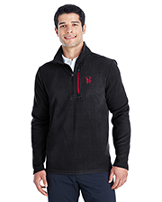 Custom Embroidered Spyder 187332 Men Transport Quarter-Zip Fleece Pullover at GotApparel