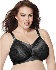 Just My Size 1960 Women Satin Stretch Wirefree Bra at GotApparel