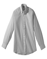Edwards 1975 Men Pinpoint Adjustable Cuff Long Sleeves Oxford Shirt at GotApparel