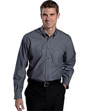 Edwards 1976 Men No-Iron Button Down Long Sleeves Dress Shirt at GotApparel