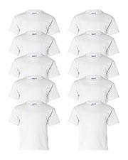 Gildan G200B Boys Ultra Cotton 6 Oz. T-Shirt 10-Pack at GotApparel