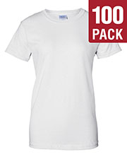 Gildan G200L Women Ultra Cotton 6 Oz. T-Shirt 100-Pack at GotApparel