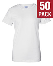 Gildan G200L Women Ultra Cotton 6 Oz. T-Shirt 50-Pack at GotApparel