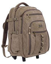 Rothco 20056  Rolling Canvas Backpack at GotApparel