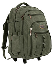 Rothco 20057  Rolling Canvas Backpack at GotApparel