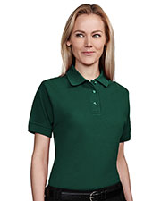 Tri-Mountain 202 Women Artisan Stain Resistant Short Sleeve Pique Golf Shirt at GotApparel