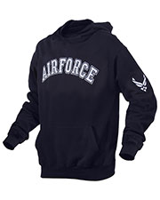 Rothco 2047 Men Military Embroidered Pullover Hoodies at GotApparel