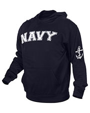 Rothco 2057 Men Military Embroidered Pullover Hoodies at GotApparel
