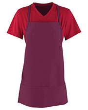 Augusta 2060 Unisex Medium Cotton Apron With Pouch at GotApparel