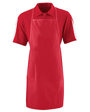 Augusta 2070 Unisex Long Cotton Apron With Pocket at GotApparel