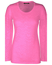 "HeartSoul 20820 Women ""After Your Heart"" Long Sleeve Knit Tee at GotApparel"