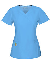 "HeartSoul 20971A Women ""Wrapped Up"" V-Neck Top at GotApparel"