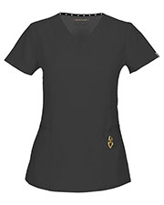 "HeartSoul 20972A Women ""Beloved"" V-Neck Top at GotApparel"