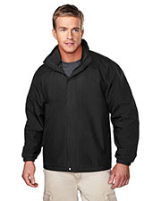 Tri-Mountain 2100 Men Meridian Ripstop Nylon Long-Sleeve Jacket at GotApparel