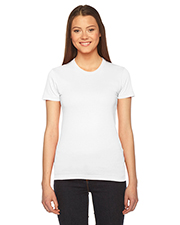 American Apparel 2102W Women Ladies' Fine Jersey Short-Sleeve T-Shirt at GotApparel