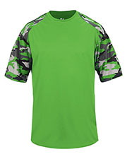 Badger 2141  Youth Camo Sport Tee at GotApparel