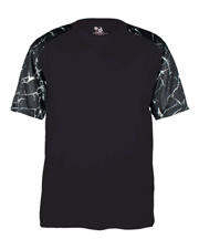 Badger 2143 Boys Shock Sport Tee at GotApparel