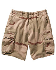 Rothco 2150 Men Vintage Camo Paratrooper Cargo Shorts at GotApparel