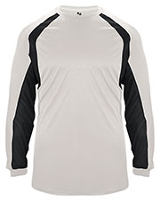 Badger 2154  Youth B-Dry L/S Hook Tee at GotApparel