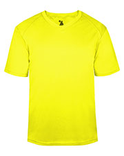 Badger 2162  B-Core Performance Solid Color Lap V-Neck Tee at GotApparel