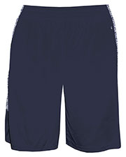 Badger 2195  Blend Yth Panel Short at GotApparel