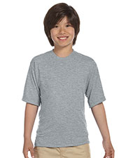 Jerzees 21B Boys 5.3 oz., 100% Polyester SPORT with MoistureWicking T-Shirt at GotApparel