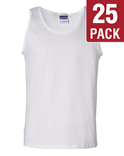 Gildan G220 Men Ultra Cotton 6 Oz. Tank 25-Pack at GotApparel