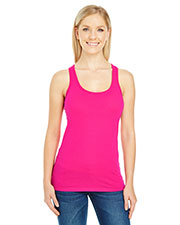 Threadfast Apparel 220RT Women 4.5 oz Spandex Performance Racer Tank at GotApparel