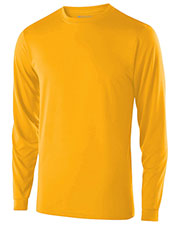 Holloway 222625 Boys Polyester Long Sleeve Gauge Shirt at GotApparel