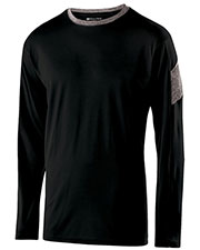 Holloway 222627 Boys Polyester Long Sleeve Electron Shirt at GotApparel
