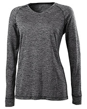 Holloway 222717 Women V-Neck Long-Sleeve Training Top at GotApparel