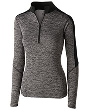 Holloway 222742 Women Electrfy 1/2 Zp Pullover at GotApparel