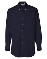 Van Heusen 13V0521 Men Long Sleeve Baby Twill Shirt at GotApparel