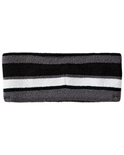 Holloway 223837 Unisex Acrylic Rib Knit Comeback Headband at GotApparel