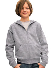 LAT 2246 Youth Zip Fleece Hoodie at GotApparel