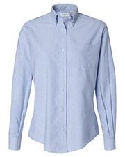 Van Heusen 13V0002 Women Oxford Shirt at GotApparel