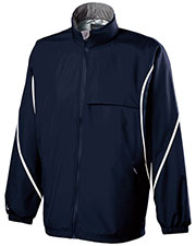 Holloway 229159 Men Polyester Full Zip Hooded Circulate Jacket at GotApparel