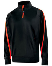 Holloway 229192 Men Polyester 1/4 Zip Determination Pullover at GotApparel