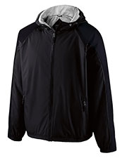 Holloway 229211  Youth Polyester Full Zip Hooded Homefield Jacket at GotApparel