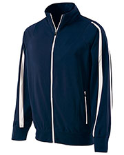 Holloway 229242  Youth Polyester Full Zip Determination Jacket at GotApparel