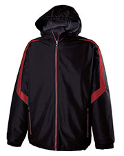 Holloway 229259 Boys Polyester Full Zip Charger Jacket at GotApparel