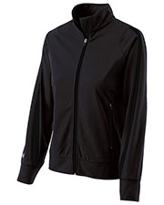 Holloway 229342 Women Polyester Full Zip Determination Jacket at GotApparel