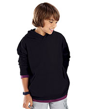 LAT 2296 Youth Pullover Fleece Hoodie at GotApparel
