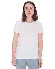 American Apparel 23215OW Women Ladies' Organic Fine Jersey Classic T-Shirt at GotApparel