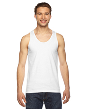 Custom Embroidered American Apparel 2408 Men 4.3 oz Fine Jersey USA Made Tank at GotApparel