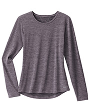 White Swan Brands 2408  Jockey  Performance Rx   Dry Comfort Tee. 25 Length. Rounded  Collar With Set In Sleeves. Athletic Inspired X Back Detail. Hi-Low Shirttail Hem. at GotApparel