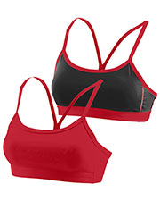 Augusta 2415 Women Encore Reversible Sports Bra at GotApparel